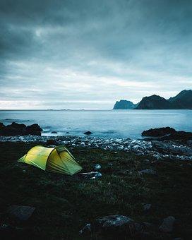 Norway, Lofoten, Island, Fjord, Nature, Landscape, Sky