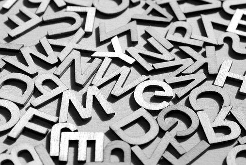 Letters, Alphabet, Letter, The Background, Texture