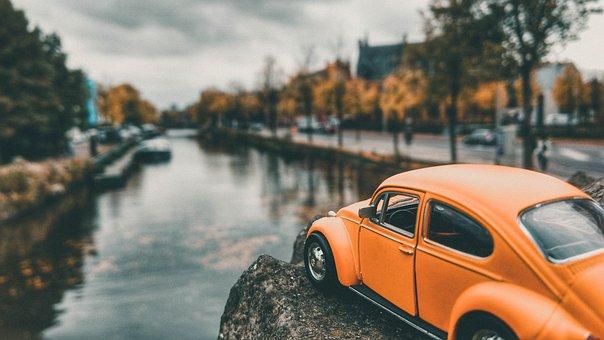 Beetle, Amsterdam, Model, Miniature, Canal, Souvenir