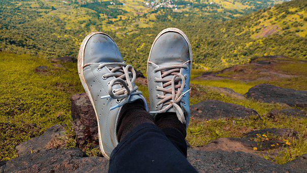 Just Walk, Shoes, Trekking, Prabalgad, Kalavantin