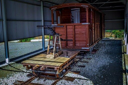 Railway Museum, Railway Station, Old, Locomotive, Wagon