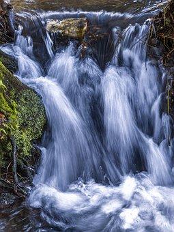 Water, Waterfall, Nature, Landscape, Creek, River