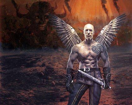 Archangel, Apocalypse, Protector, Savior, Angel Figure