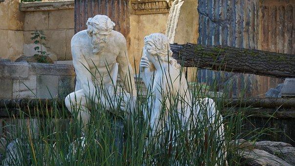 Sculpture, Fountain, Statue, Architecture, Water, Art