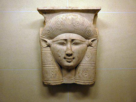 Paris, The Louvre, Sculpture, Middle East, Goddess