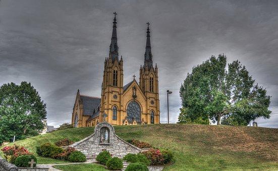Church, Religion, Landmark, St, Andrews