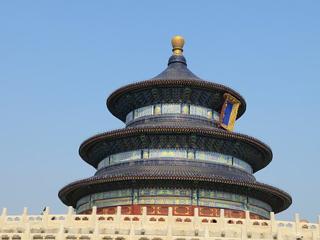 Temple Of The Moon, Moon Temple, Temple, China