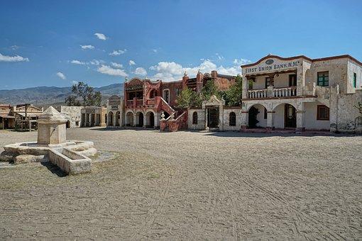 Western City, Spain, Tabernas, Tourism, Dry, Desert