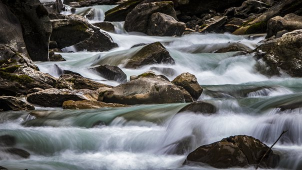River, Flow, Water, Nature, Landscape, Bach, Waters