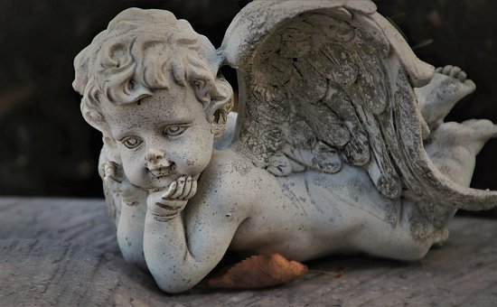 Wing, Guardian Angel, Tombstone, Sculpture