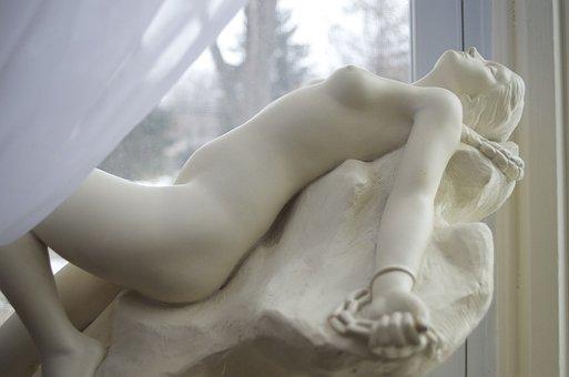 Andromeda, Statue, Mythology, Woman, Ancient, Greek