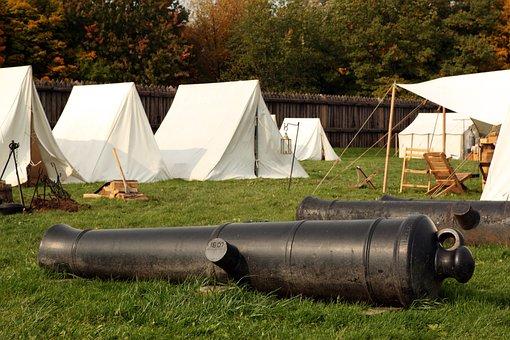 Cannon, Camp, War, Civil, Soldier, Infantry, Memorial
