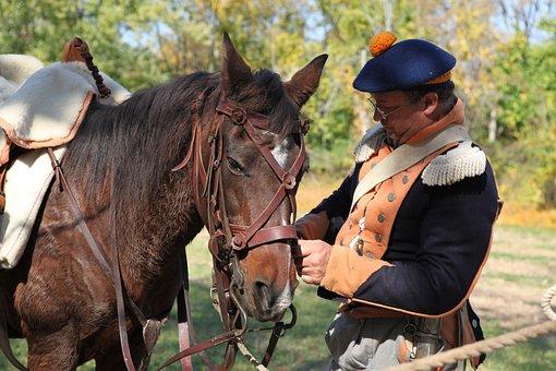 Horse, Cavalry, War, Civil, Soldier, Infantry, Memorial