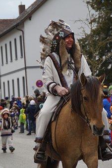 Indians, Horse, Ride, Chief, Fig, Fool, Haestraeger