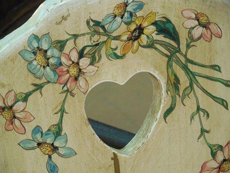 Stencil, Detail, Chair, Design, Decorative, Drawing