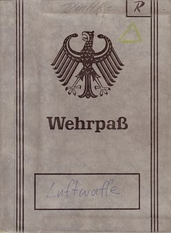 Wehrpaß, Document, Military, Soldier, Air Force