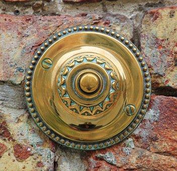 Door Bell, Door Clamp, Bell, Clamp, Push Button