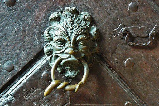 Door Handle, Door Knob, Door, Input, House Entrance