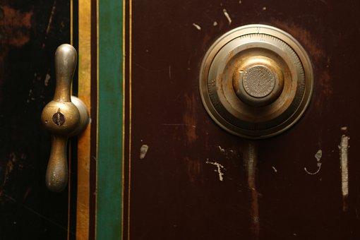 Door Bell, Door Knob, Bell, Ring, Doorbell, Vintage