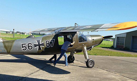 Aircraft, Dornier Do 27, Stol-multipurpose Aircraft