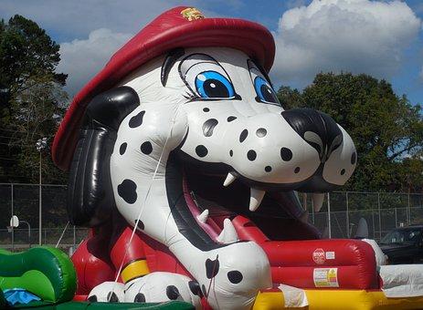 Dog, Carnival Ride, Animal, Fair, Recreation, Ride