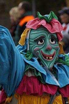 Colorful, Gaudy, Fig, Fool, Haestraeger, Carnival