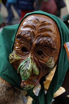 Face, Head, Fig, Fool, Haestraeger, Carnival