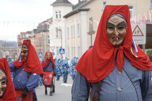 Witches, Fools Guild Ulm, Fools Jump, Swabian Alemannic