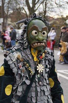 Langenargen, Viewers, Fig, Fool, Haestraeger, Carnival
