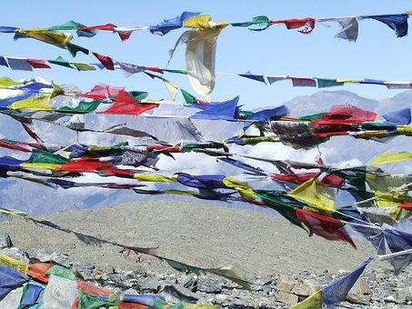 Prayer Flags, Himalayan, Nepal