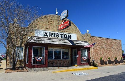 Ariston, Restaurant, Route 66, Litchfield, Illinois