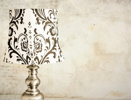 Lamp, Wall, Table, Side, Blank, Interior, Furniture
