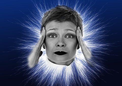 Headache, Woman, Face, Flash, Headaches, Crisis, Kummer