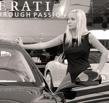 Maserati, Model, Auto Show, Auto Expo, Hostess