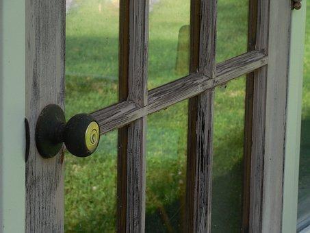 Door, Knob, Lock, Handle, Metal, Entrance, Doorknob