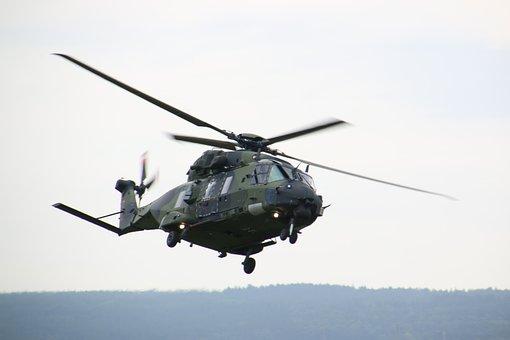 Helicopter, Transport Helicopter, Nh-90, Bundeswehr