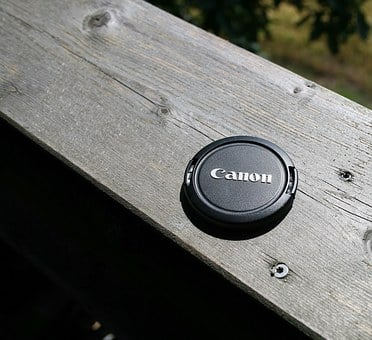 Canon, Lens Cover, Photograph, Photo, Camera, Dslr
