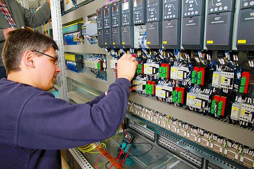 Control Cabinet, Power Plant, Automation, Profession