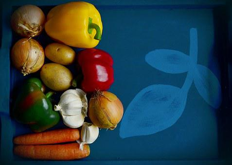 Vegetables, Recipe, Template, Background, Tray, Cook