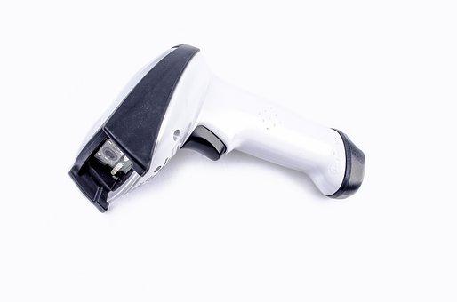 Scanner, Reader, Code, Wireless, Scan, Bluetooth, Hand