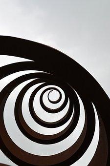 Steel, Sculpture, Art, Architecture, Design, Form