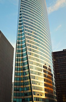 Architecture, Paris, La Défense, Facade, Skyscraper
