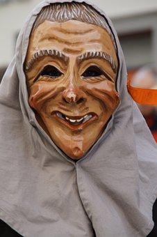 Woman, Old Woman, Liz, Female, Headscarf, Smile, Face