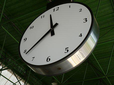 Watch, Ceiling Clock, Pointers, Hours, Time