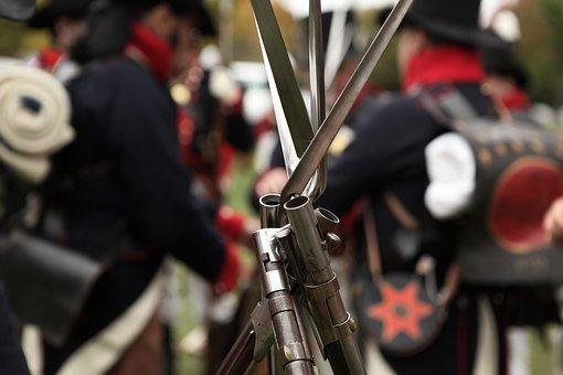 Guns, Bayonets, War, Civil, Soldier, Infantry, Memorial