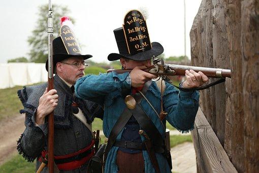 Ohio, War, Fort, Civil, Soldier, Infantry, Memorial