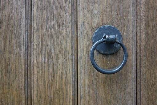 Door, Wooden Door, Door Knob, Input, Wood, Old, Goal