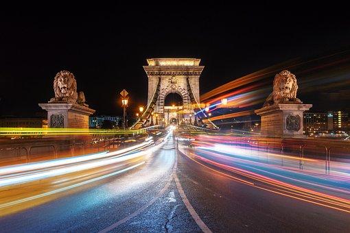 Budapest, Chain Bridge, Hungary, Bridge, Architecture
