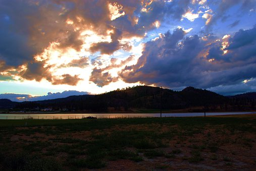 Sunset, Skies, Clouds, Landscape, Evening, Dusk, Sea