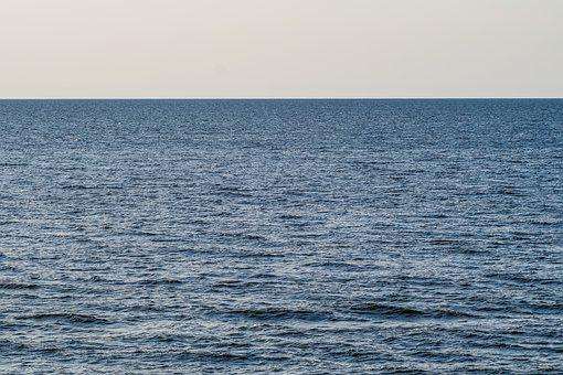 Sea, Ocean, The Horizon, Emptiness, The Waves, Water